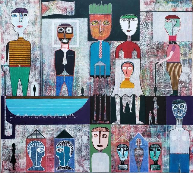 , 'Cuban History,' 2019, TOTH GALLERY