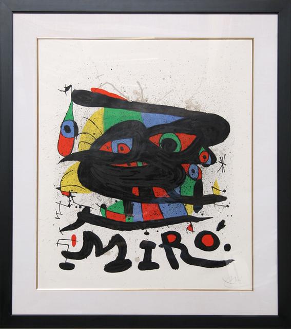 Joan Miró, 'Walker Art Center', 1971, RoGallery