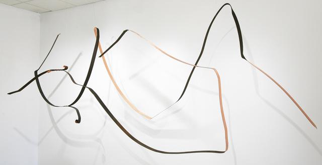 , 'Strap #1 & #2,' 2016, David Richard Gallery