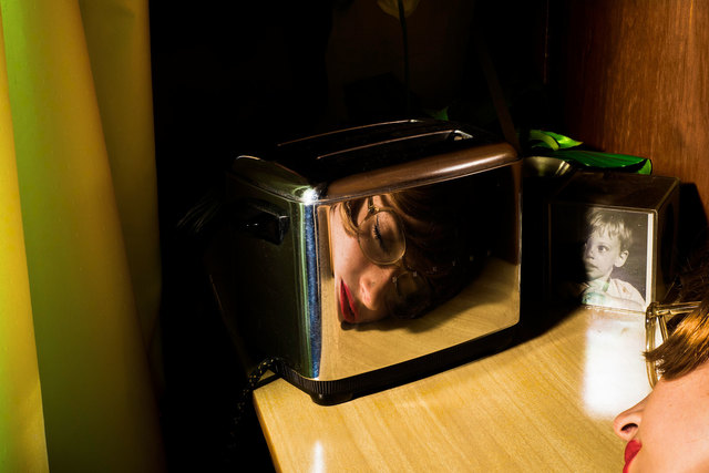, 'Our Life in the Shadows: Toaster (Self-portrait),' 2016, ALMANAQUE