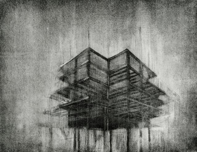 , 'Construction 1,' 2011, Remarque Printshop