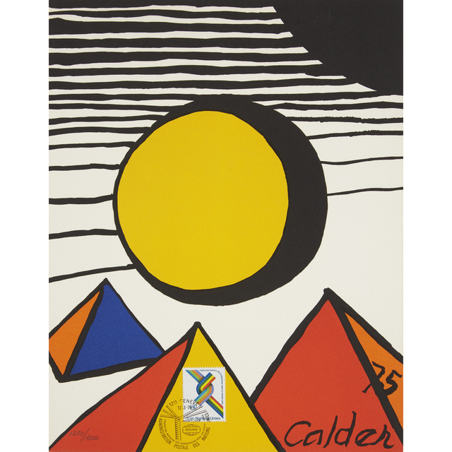 Alexander Calder, '30th Anniversary of the World Federation of United Nations Associations Print', 1975-76, Freeman's
