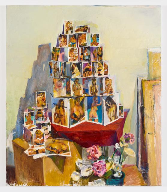 , 'Untitled (Card House #2),' 2016, Diane Rosenstein