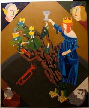 , 'La Gran Prostituta de Babilonia,' 2003, Álvaro Alcázar