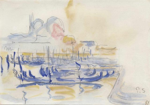 , 'Vue de Venise,' 1908, Stoppenbach & Delestre
