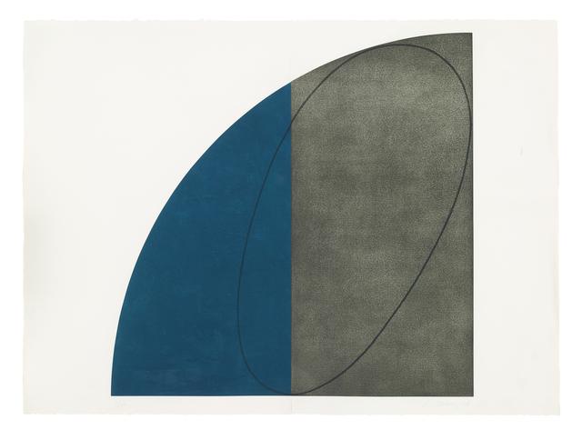 Robert Mangold (b.1937), 'Curved Plane/Figure I', 1994, Berggruen Gallery