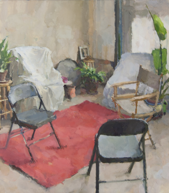 , 'Interior with Five Chairs I,' 2015, Gallery 1261