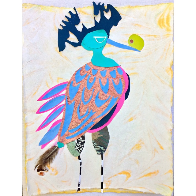 , 'A Bird Named Parasol ,' 2017, Miller Gallery Charleston