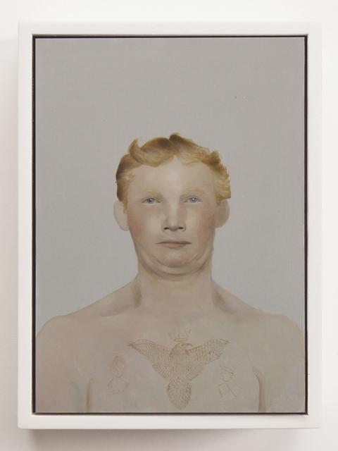 , 'Immigrant series German Stowaway II ( deported),' 2016, Conduit Gallery