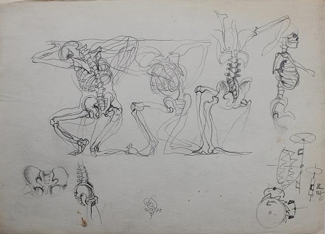 , 'Skeletons,' 1975, Gallery Katarzyna Napiorkowska | Warsaw & Brussels