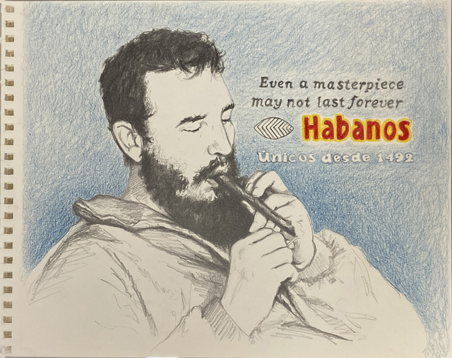 , 'Habanos,' 2012, Pan American Art Projects