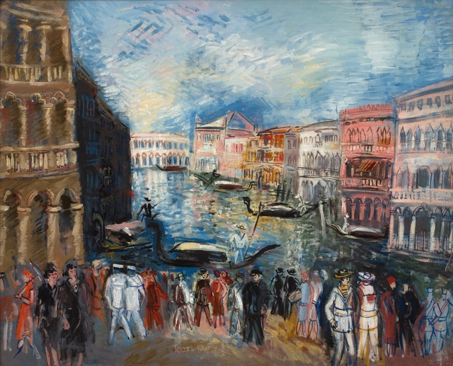 , 'Venise, Le Grand Canal,' ca. 1929 , Willow Gallery