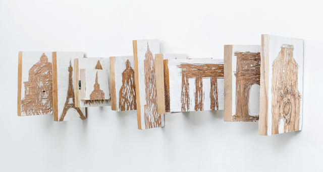 , 'WOODEN BOOK ABOUT ARCHITECTURE,' 2018, Anna Nova Gallery