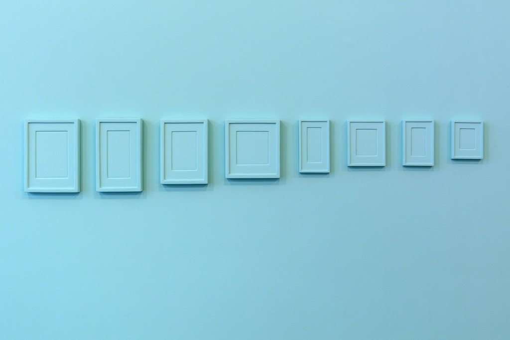 """A VENDRE, EXPOSITION"" - Claude Rutault, Allan McCollum ©Charles Duprat"