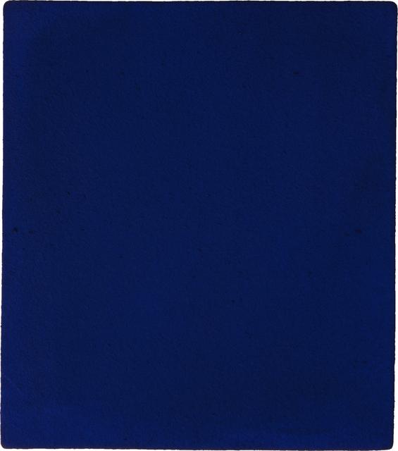, 'Untitled blue monochrome (IKB 187),' 1960, National Gallery of Art, Washington, D.C.