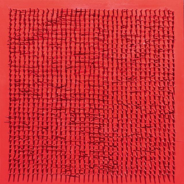 , 'Tableau clous,' 1969, Galerie Holtmann