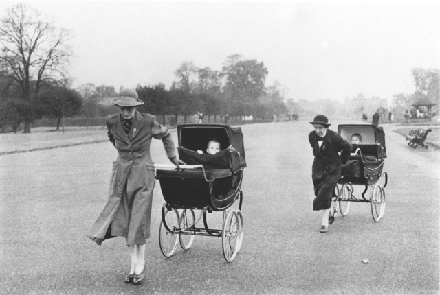 Bruce Davidson, 'Nannies with Baby Carriages. London, England, 1960 from the series England/Scotland 1960', ca. 1960, Elizabeth Houston Gallery