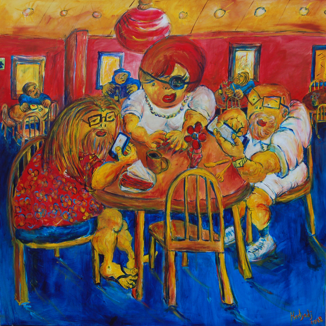 , 'Family Pastrami Break,' 2018, Molin Corvo Gallery