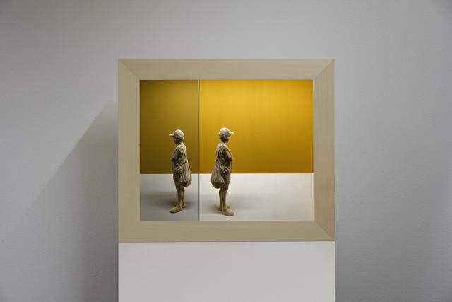 , 'Reflected moment IX,' 2017, Liquid art system