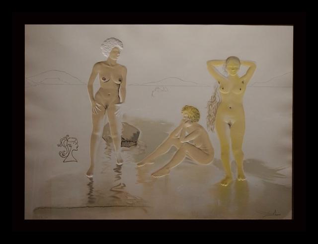 Salvador Dalí, 'Three Graces of Cova d'Or (Woman's Face)', 1975, Fine Art Acquisitions