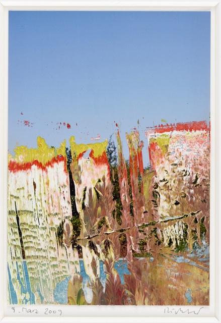 , 'Ohne Titel (9. März 2009),' 2009, Ludorff