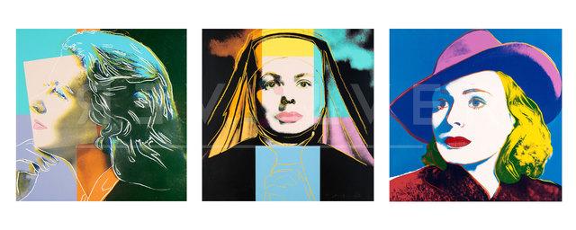 Andy Warhol, 'Ingrid Bergman Complete Portfolio (FS II.313-315)', 1983, Revolver Gallery