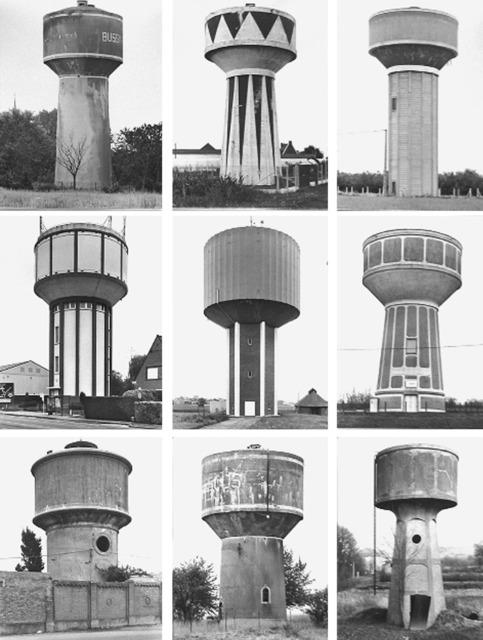 , 'Typologie Wassertürme,' 1967-2010, Konrad Fischer Galerie