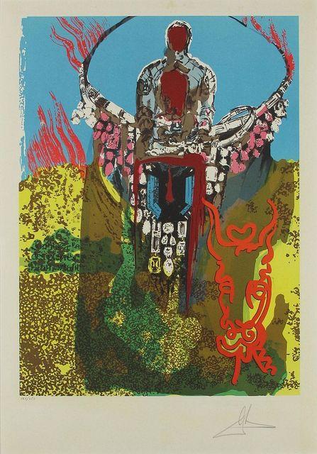 Salvador Dalí, 'The Bullfighter (The Golden Calf), Lithograph paper contemporary art', 1980, Modern Artifact