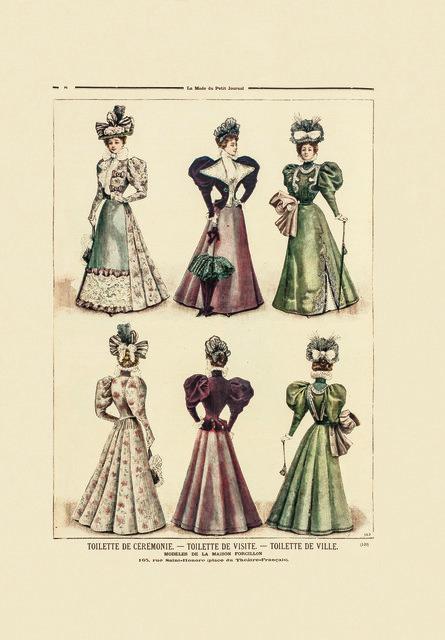 , 'La mode du Petit Journal,' 1896, Les Arts Décoratifs