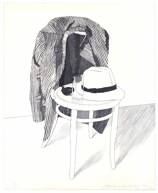 David Hockney, 'Panama Hat', 1972, Christie's