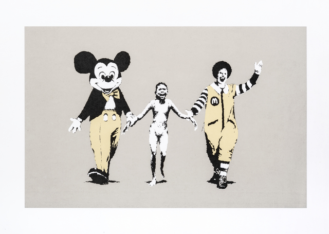 Banksy, 'Napalm', 2004, Print, Screen print in colours on wove paper, Tate Ward Auctions