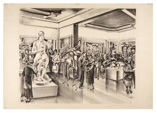 Joseph Webster Golinkin, 'ART LOVERS', 1933, Doyle
