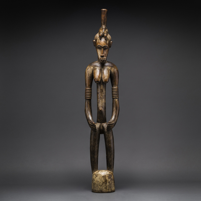 , 'Female Senufo Wooden Pombilele Rhythm Pounder,' 20th Century AD, Barakat Gallery