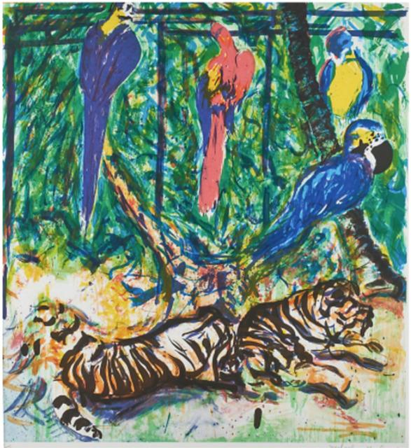 , 'Parrots,' 1981, Andrea S. Keogh Art and Design