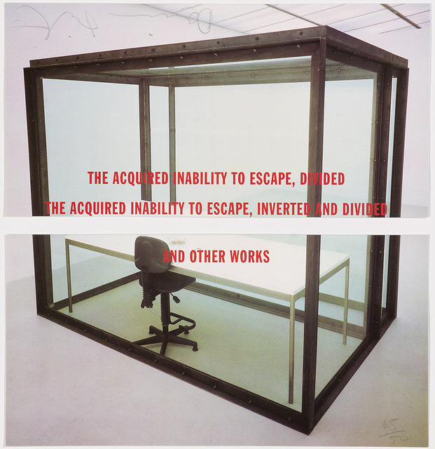 Damien Hirst, 'The Acquired Inability to Escape, Divided. The Acquired Inability to Escape, Inverted and Divided. And other Works', 1993, Artificial Gallery
