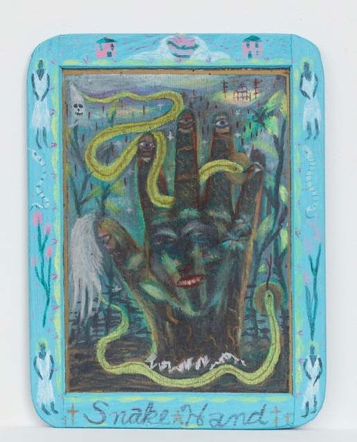 Tony Fitzpatrick, 'Snake Hands', ZQ Art Gallery