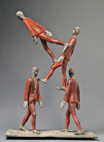 , 'Gambe in Spalla,' 2007, Cafmeyer Gallery