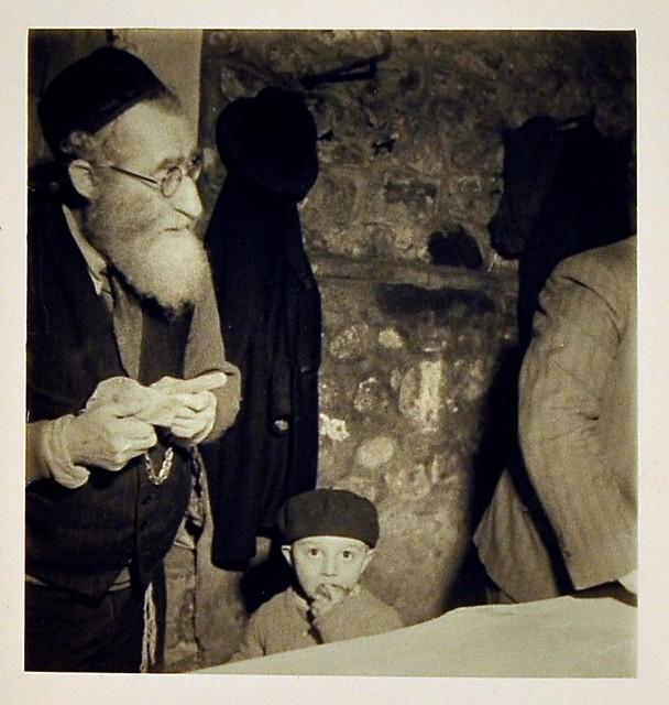 , 'Rabbi and Child, Eastern Europe,' 1935-38, Robert Hershkowitz