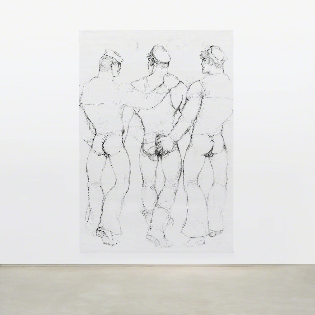 TOM OF FINLAND, Untitled (in situ), 1985