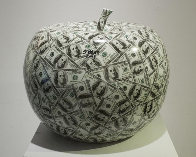 Wu Shaoxiang 吴少湘, '苹果; Apple', 2009, Sculpture, Porcelain, Linda Gallery