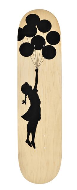 Banksy, 'Balloon Girl skateboard deck', 2017, EHC Fine Art: Essential Editions VI