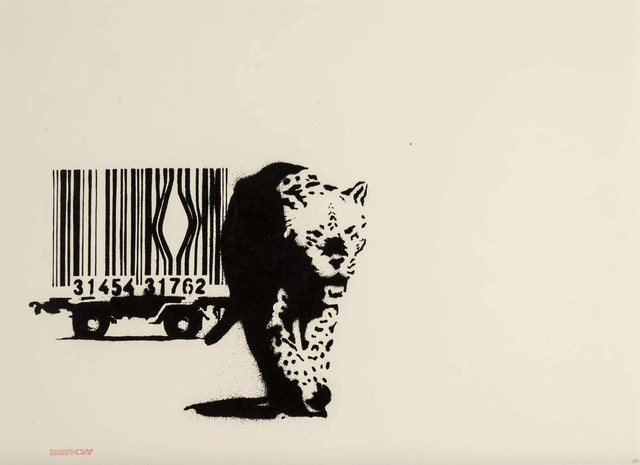 Banksy, 'Barcode - Unsigned', 2003, Hang-Up Gallery