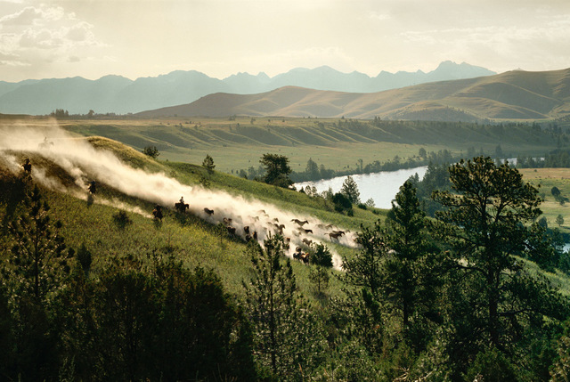 , 'Mission Ridge, Perma, MT,' 1988, M+B