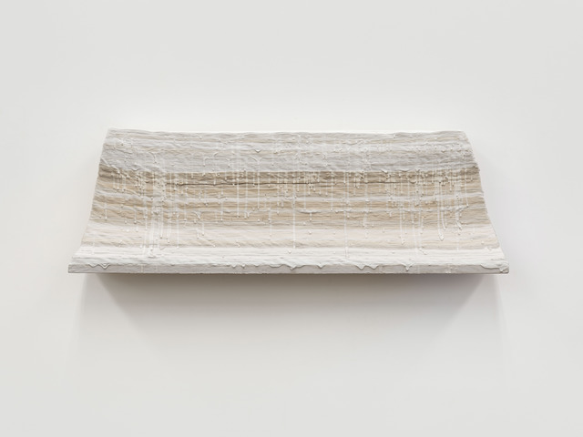 Wang Guangle, 'Waves 2013', 2013, Mixed Media, Plaster and wall caoting on woodboard, Beijing Commune