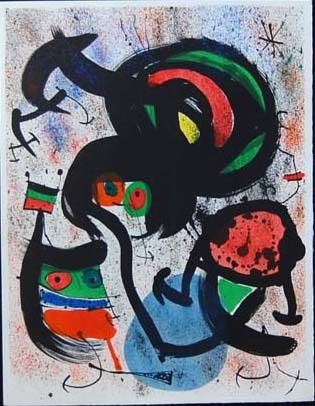 Joan Miró, 'The Seers II (Les Voyants)', 1970, Baterbys