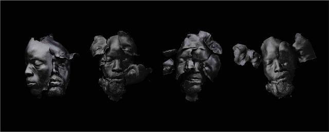 , 'Fossils (Black),' 2016, Galerie Ron Mandos