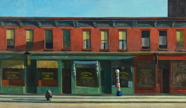 Edward Hopper, 'Early Sunday Morning', 1930, Whitney Museum of American Art