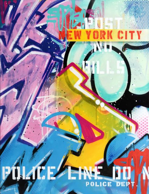 , 'NEW YORK CITY,' 2017, StolenSpace Gallery