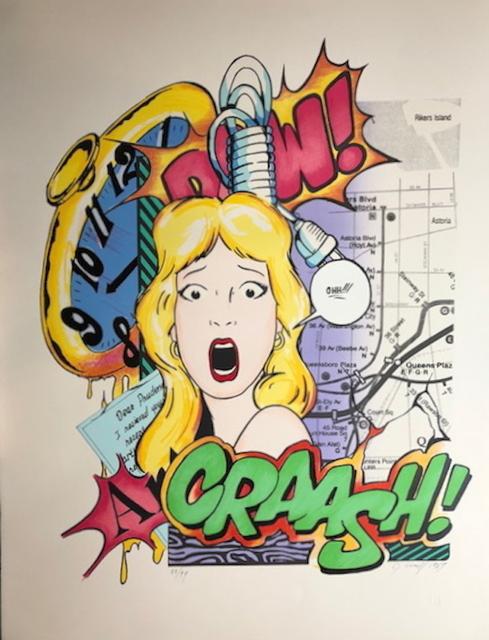 CRASH, 'Dear Prudence', 1989, Fine Art Acquisitions