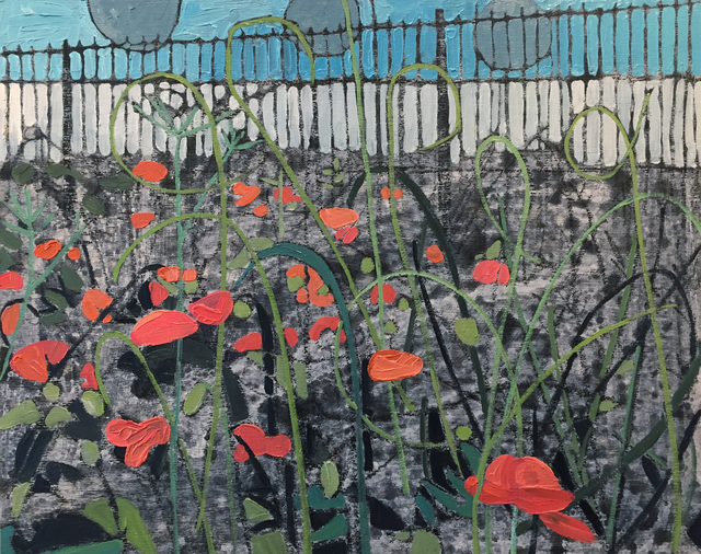 , 'Red Poppies,' 2017, parts gallery